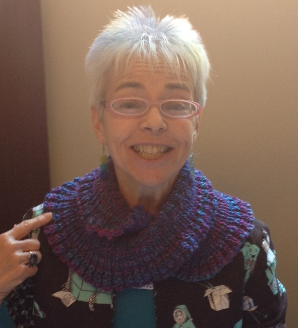 Mary Pat in my cowl
