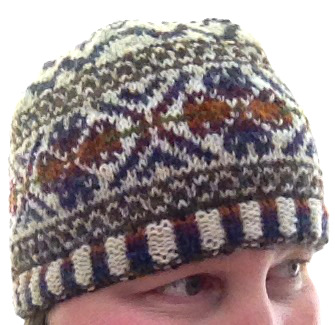 Scatness Tam, pattern by Kate Davies