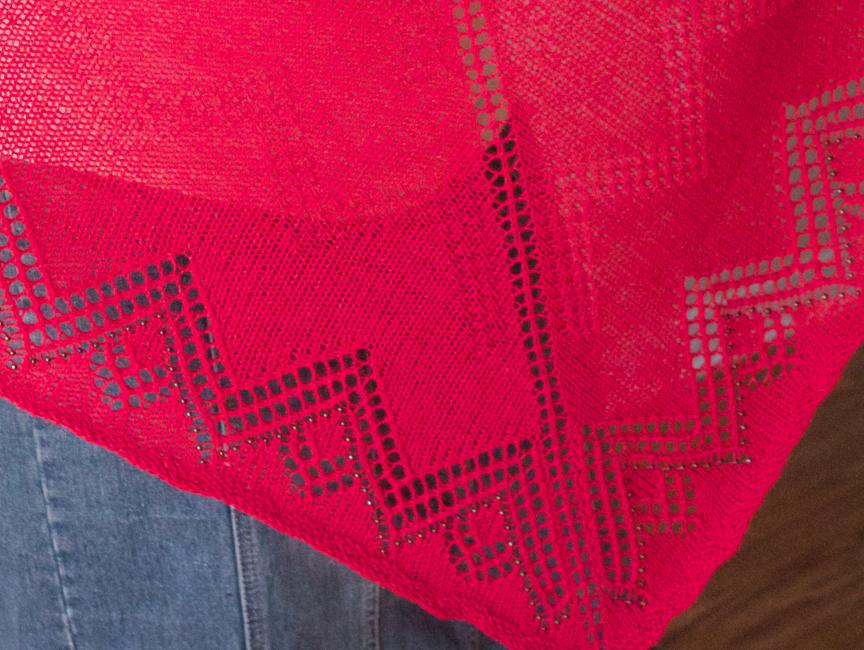 Khufu Shawl - Cascade Yarns Forest Hills lace