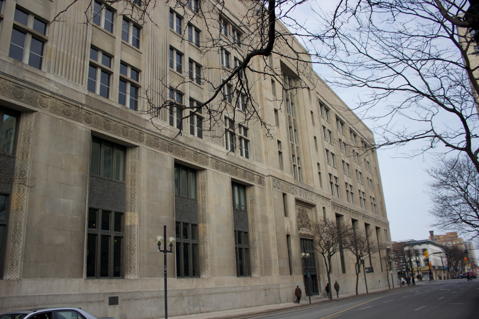 Dominion Public Building, Hamilton, ON (now John Sopinka Courthouse)