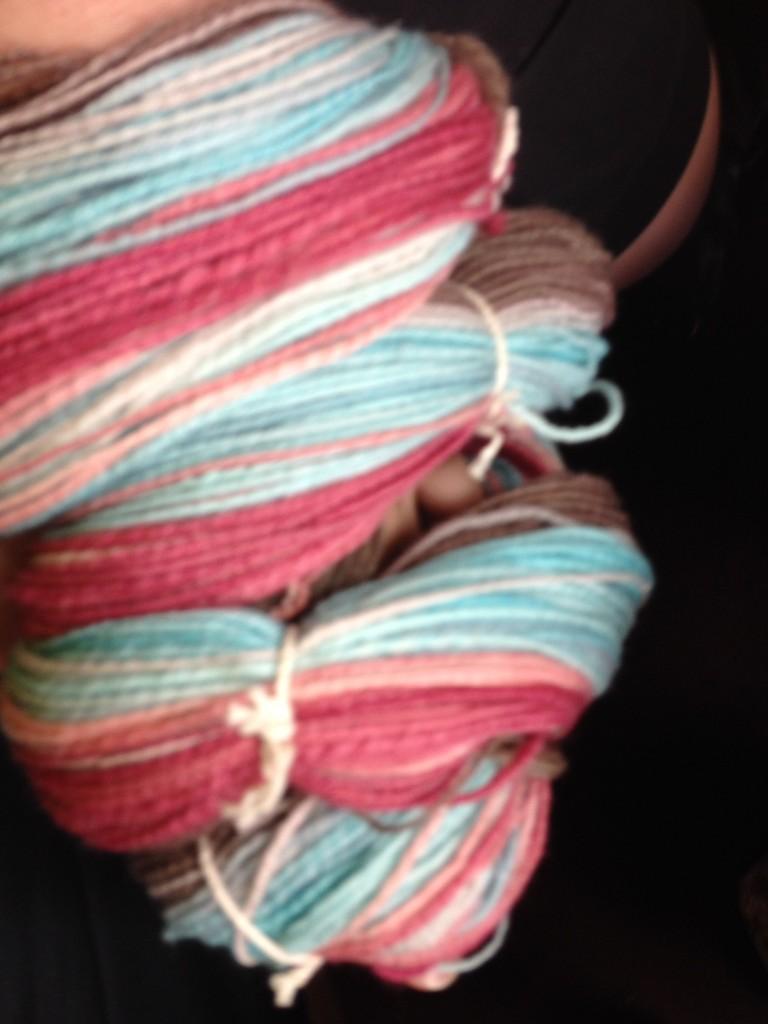 Turtlepurl Merino - spun into gradient yarn