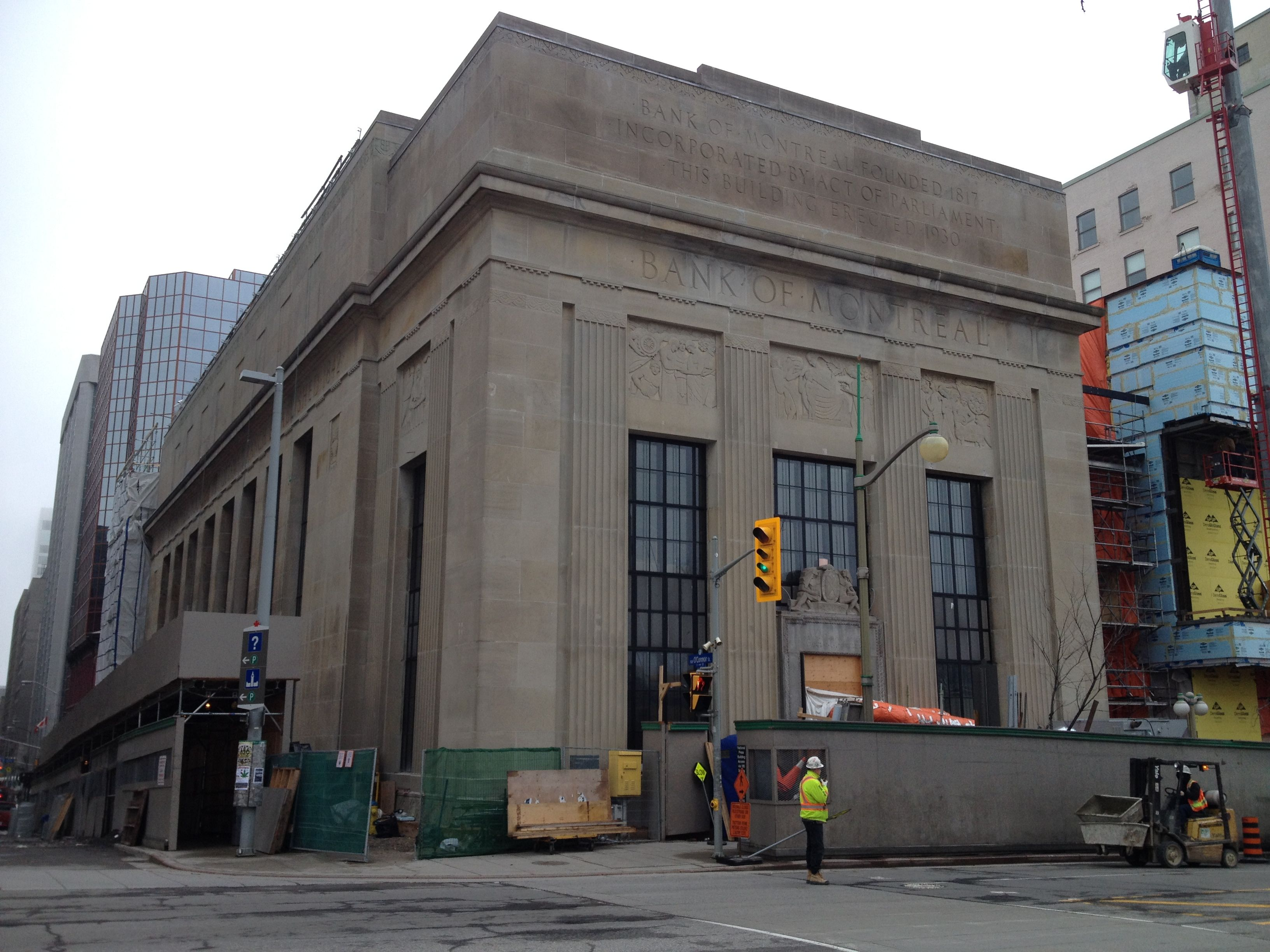 Art Deco Hoekbank.More Downtown Ottawa Art Deco Natalie Servant Designs