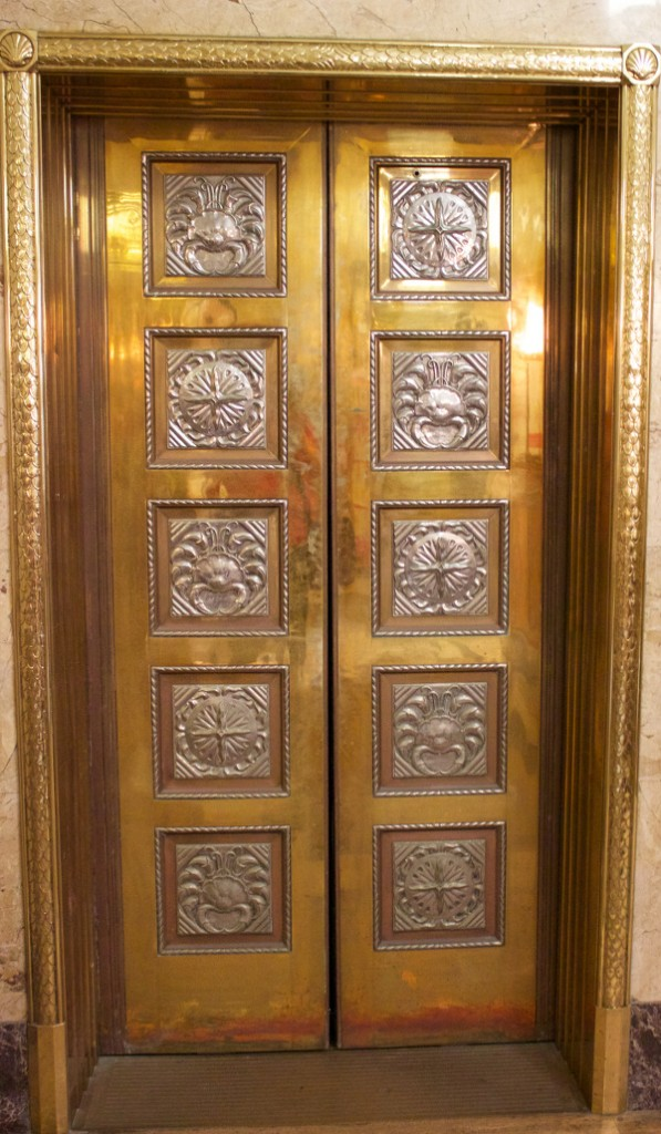 Bank of Nova Scotia, Halifax (John M. Lyle): elevator doors