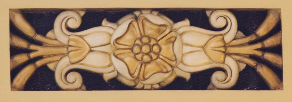 Bank of Nova Scotia, Halifax (John M. Lyle): ceiling detail