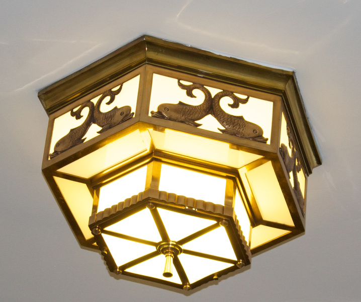 Dominion Public Building, Halifax, Nova Scotia: light fixture