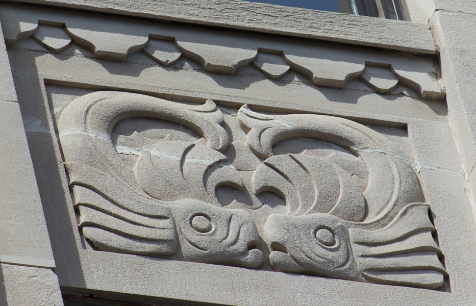 Bank of Nova Scotia, Halifax (John M. Lyle): whales