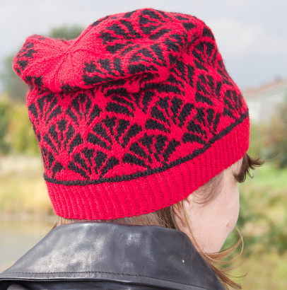 Frond Hat - slouchy version