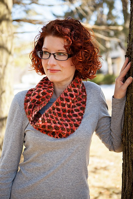 Black Bunny cowl by Andi Smith (in Synchronicity e-book)