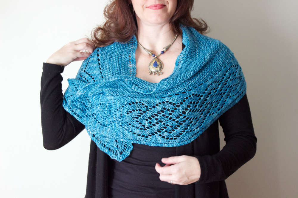 Morgaine Shawl by Natalie Servant