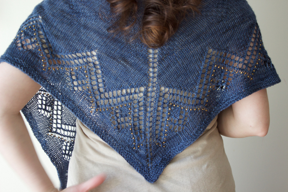Khufu Shawl by Natalie Servant