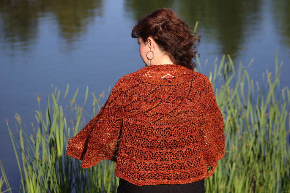 Peloton Shawl by Natalie Servant