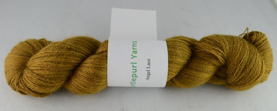 Lothlorien on Angel Lace from Turtlepurl Yarns