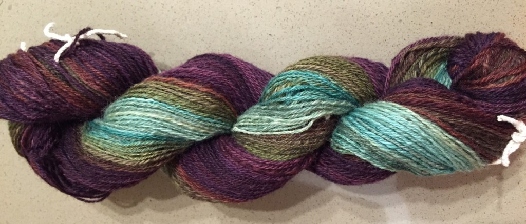 Southern Cross Fibre, After the Rains on BFL - chain-plied