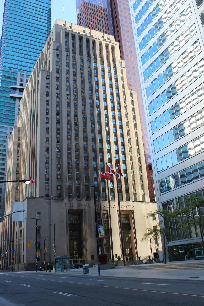 Bank of Nova Scotia, King St., Toronto