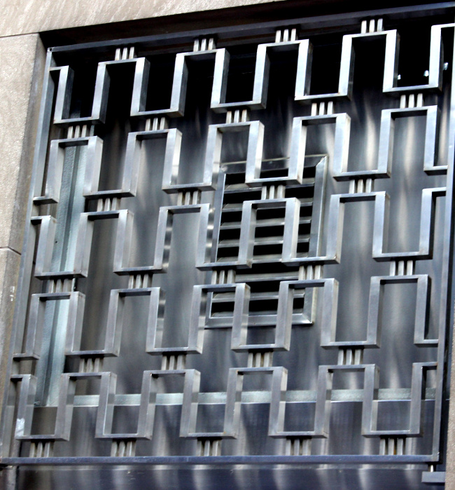 grille from Bank of Nova Scotia, King Street, Toronto