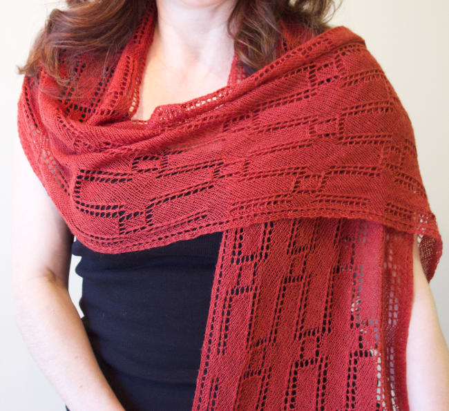 Time is Money Shawl by Natalie Servant