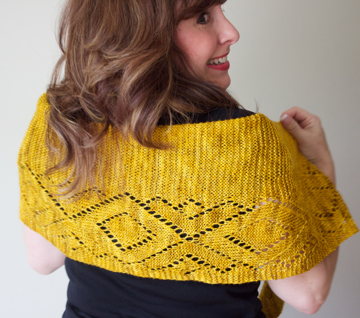 Marine Building Shawl by Natalie Servant