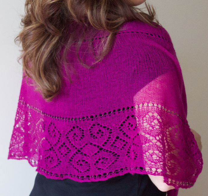 Labrouste shawl by Natalie Servant