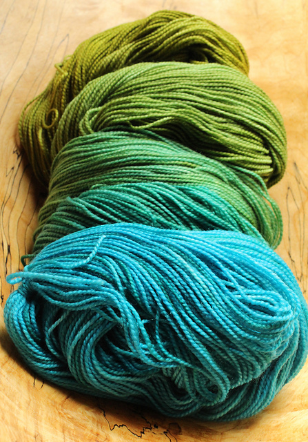 Tornadoz - yarn from Indigodragonfly