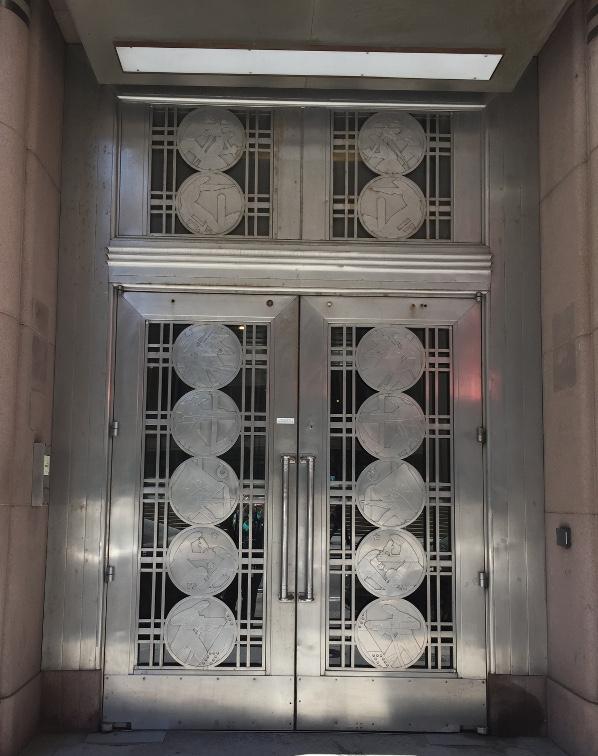 Former Toronto Stock Exchange doors