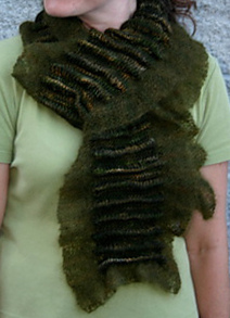Tudor Ruffle scarf by Natalie Servant