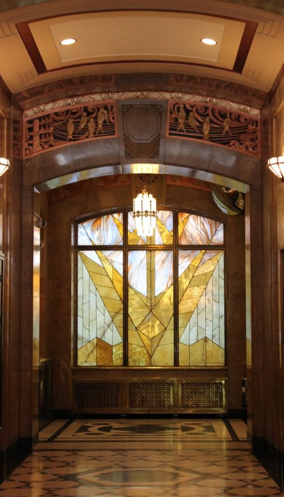 Aldred Building Lobby, Montréal, (c) Natalie Servant