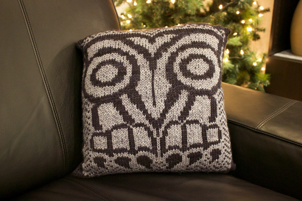 Lyle Owl Pillow by Natalie Servant