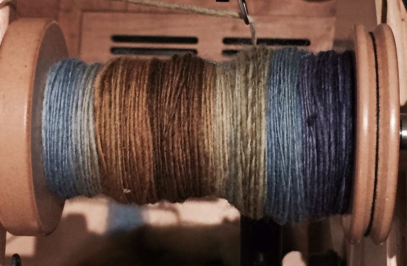 Lurking in Alleys, Falkland, from Hello Yarn