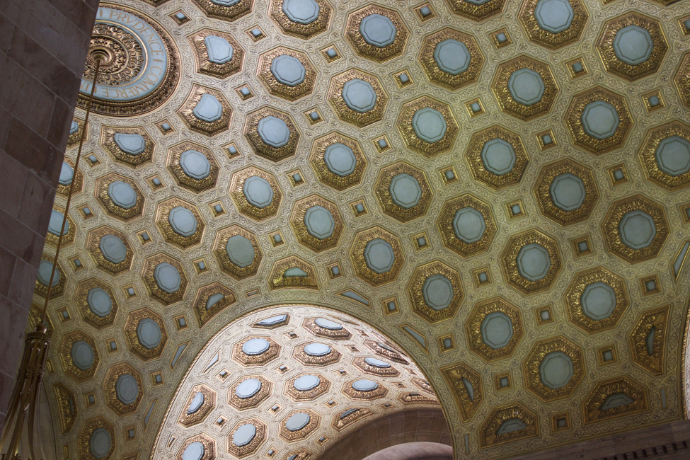 Commerce Court North ceiling
