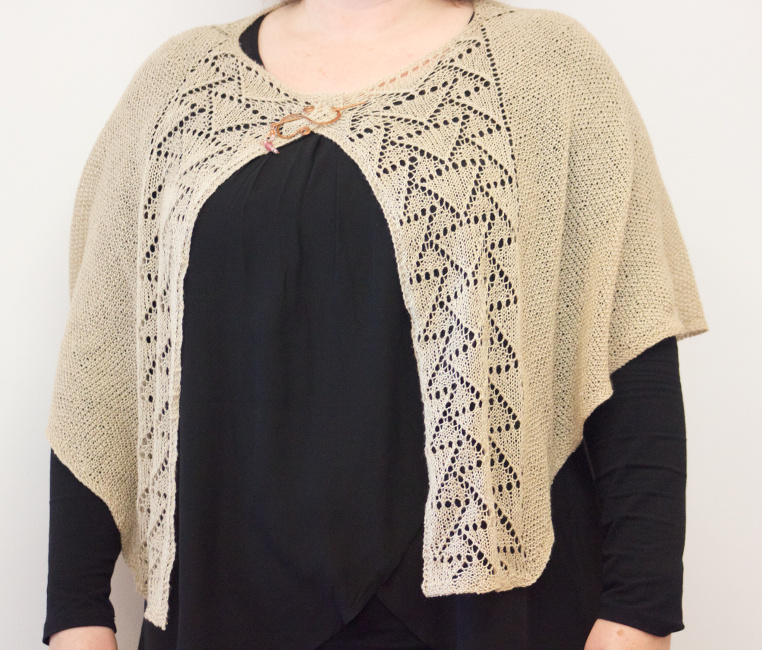 Lucky Number Shawl by Natalie Servant