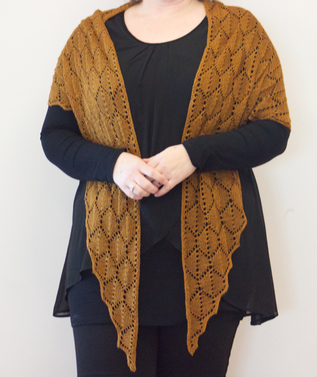 For the Bees shawl by Natalie Servant