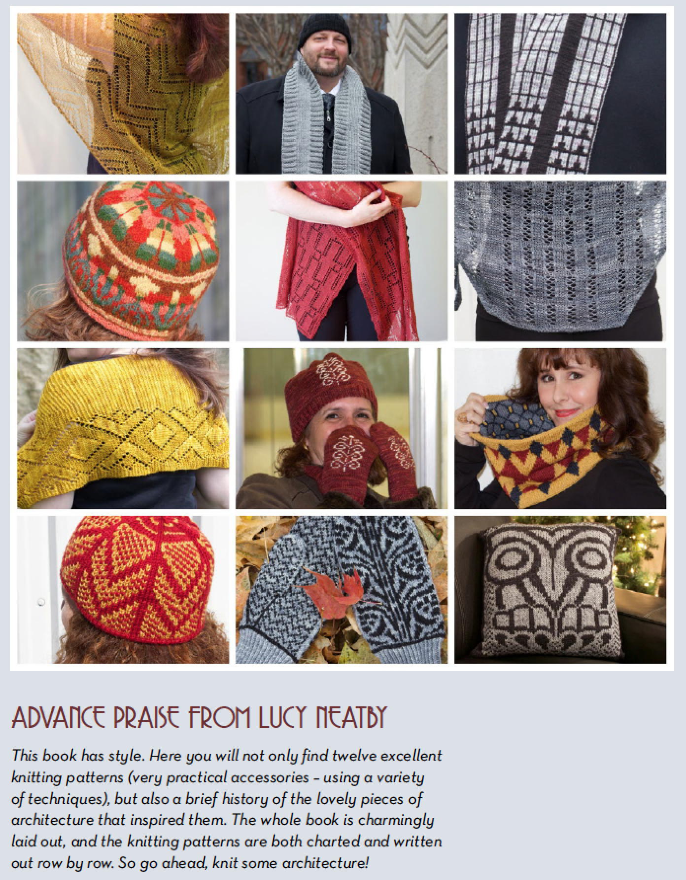 Canadian Art Deco Knits by Natalie Servant