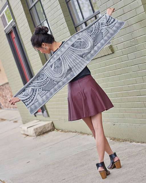 D'Amour Wrap by Kyle Kunnecke in Urban Knit Collection