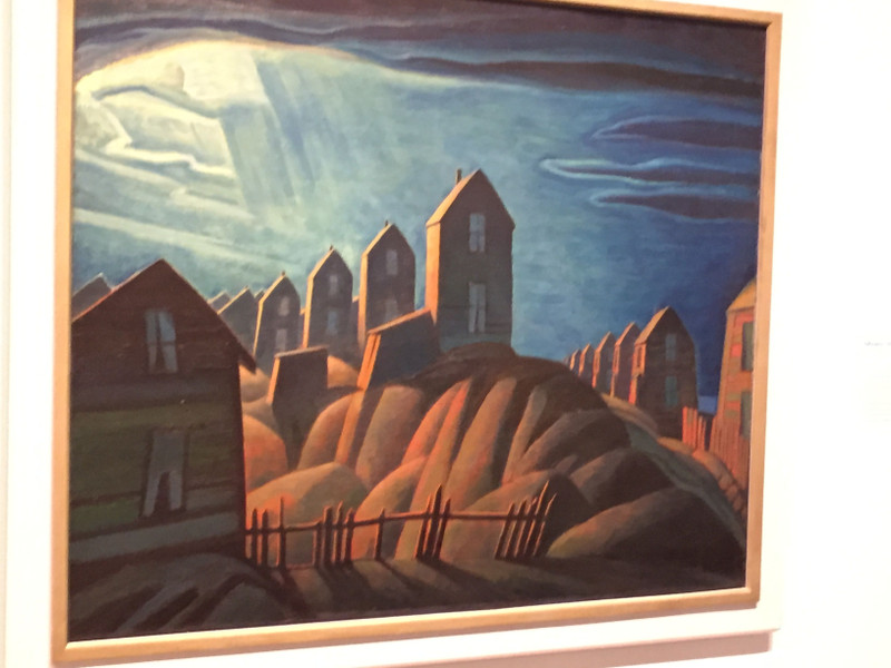Miners' Houses, Glace Bay, Lawren Harris
