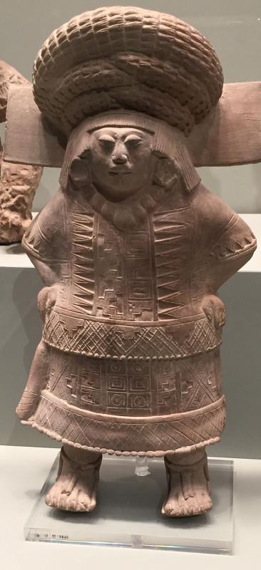 Mexican ceramic statue