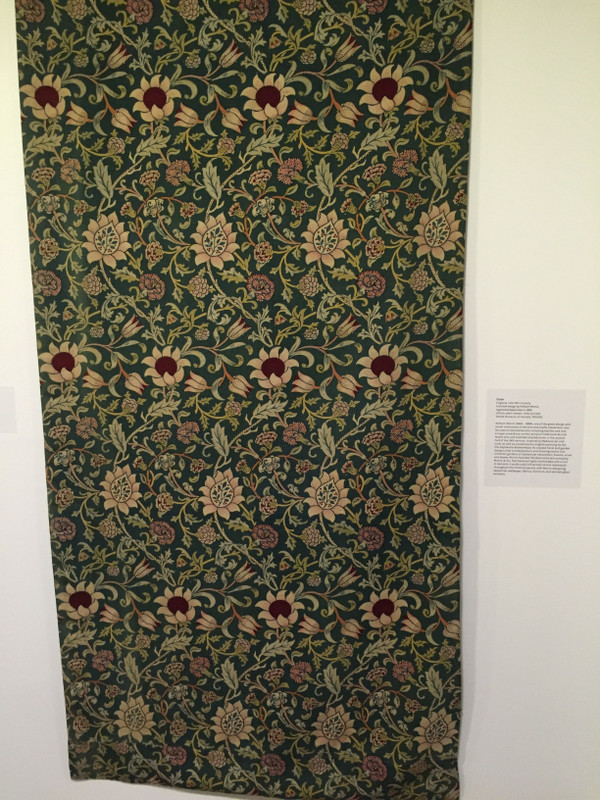 William Morris cloth