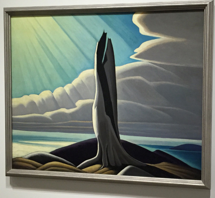 North Shore, Lake Superior, by Lawren Harris