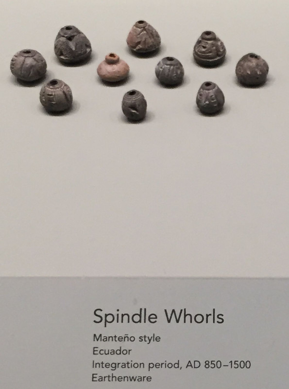 ceramic spindle whorls