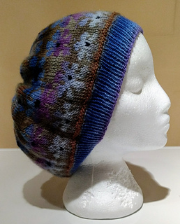 Double Knit Daisy Hat