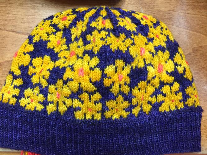 Karin's Daisy Hat