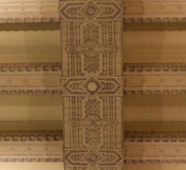Marine Building - ceiling