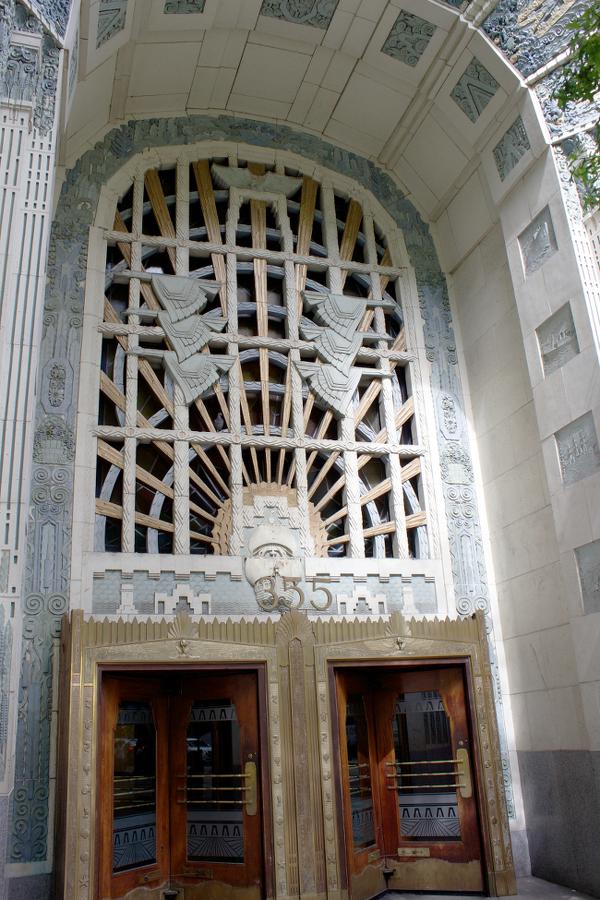 Marine Building entrance