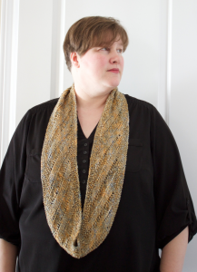 Tosh Cowl Necklace with Natalie Servant