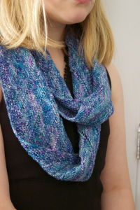 Riverside Studio yarn in Cowl Necklace