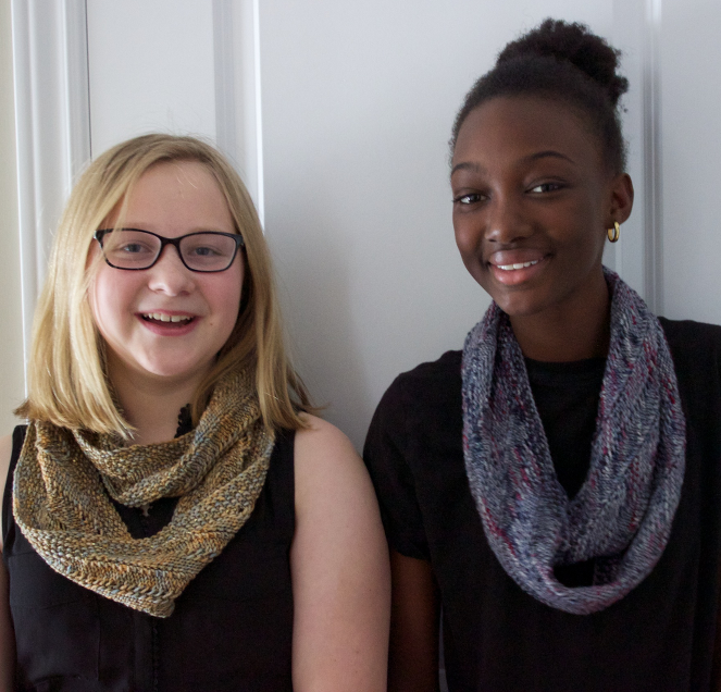 Z & O in Cowl Necklace samples