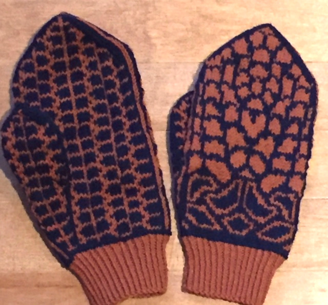 Fish and Fowl Mittens