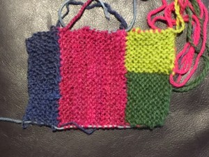 Knitting in all directions