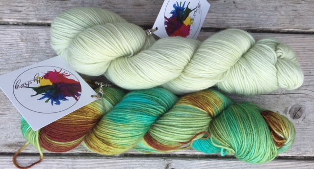 Pretty String yarn to give away